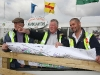 Larry Moran, John Moran, Exhibition head supervisor and Robert Moran on the site for the National Ploughing Championships at Athy which runs Tuesday 20 to Thursday 22 September.Picture: Alf Harvey.