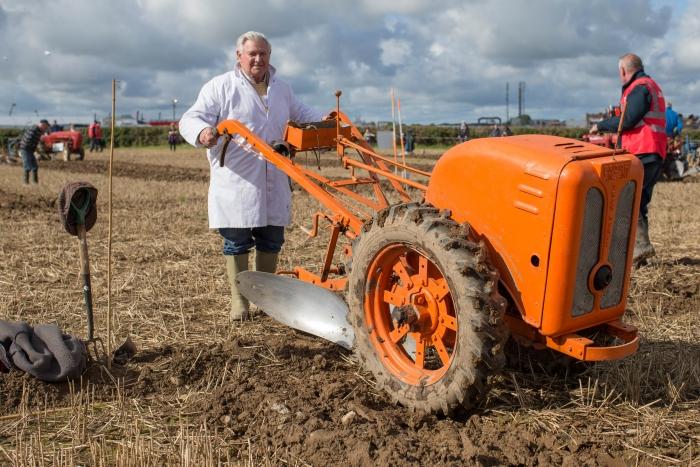 Steward Patrick O'Loughlin, Johnstown at the National Ploughing Championships at Screggan. Picture: Alf Harvey.