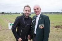 Derek Ryan with PJ Lynam