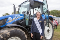Rose of Tralee Jennifer Byrne, Offaly