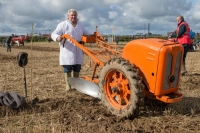 Steward Patrick O'Loughlin, Johnstown at the National Ploughing Championships at Screggan. Picture: Alf Harvey.