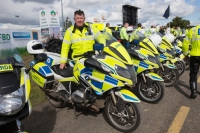 Retiring garda John Keating at the National Ploughing Championships in Screggan. Picture: Alf Harvey.