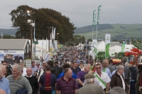 Thousands at the National Ploughing Championships at Ratheniska. Picture: Alf Harvey/hrphoto.ie