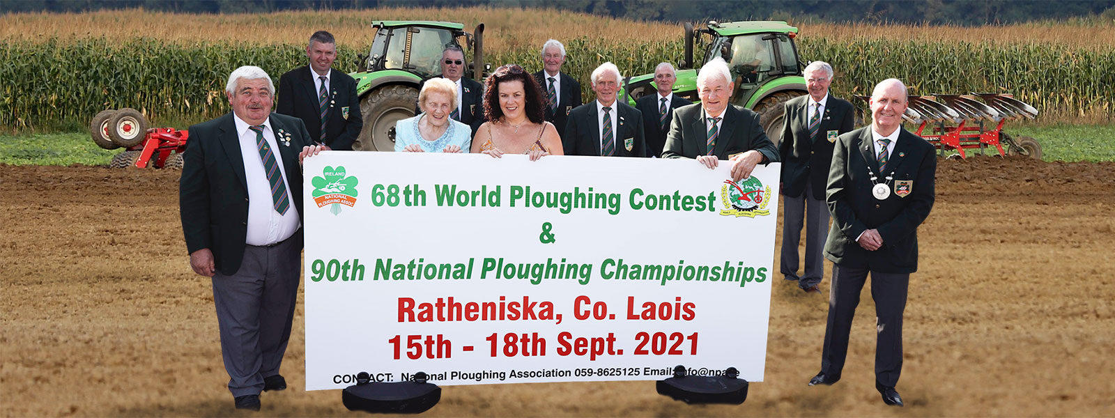 90th National Ploughing Championships Announced