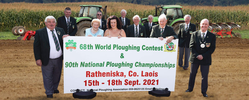 National Ploughing Association announcing the 2021 Ploughing Championships
